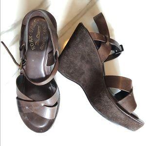 """Korkease """"Ava"""" Wedge Sandal"""